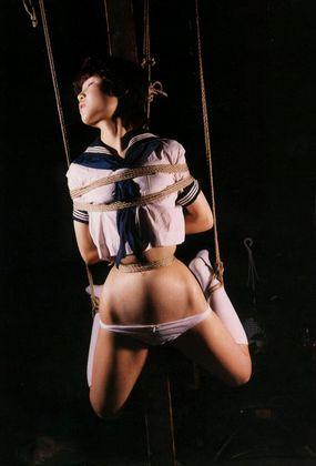 【SM☆JK緊縛】制服緊縛であられもない姿!縛ってシバいて浣腸してみた♪ - SM・緊縛・調教・浣腸
