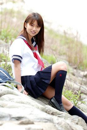 女子高生はやっぱりセーラー服だよね。制服姿の清楚なJKに癒されるエロ画像 エロの瞬間まる見え画像~女