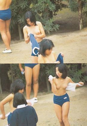 小学生 中学生乳首
