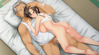 『妻の媚肉を弄る父の太い指』は、Anim の寝取られ ADV。原画・うん=食太郎。 sisp_001