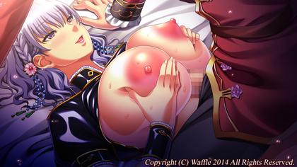 WAFFLE『巨乳ファンタジー2if』爆乳ハーレムで中出し!パイズリで精液ぶっかけ!乱交・露出・母乳