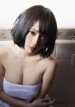 【三次】露天風呂×女の子のエロ画像