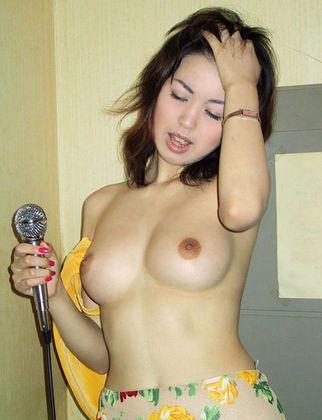 顔バレ野外露出 (36)