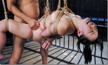緊縛された肉奴隷の吊られた姿が見たいんだwwww【小川みちる】