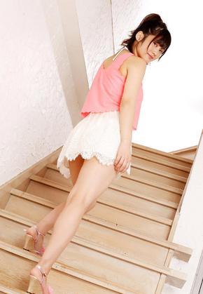 笑顔がさわやかな橘花凛の生脚とHカップがエロい着衣&水着エロ画像 エロ画像が見たい!!~エロ画像まと
