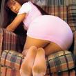 【パンストフェチ画像】 パンストに包まれたパンティ・お尻がエロいでしょ♪ ピンク画像速報
