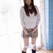 綾波優の制服ニーソの美少女裸体画像