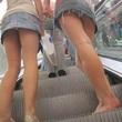 【画像】素人のパンチラ街撮り画像 - 桃色エロ画像