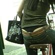ミニスカギャルのチャリチラ画像 Peeping Panty -パンチラ盗撮-