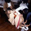 【SM☆緊縛浣腸】自我挿入*ピンクのイチジク浣腸がアナルに・・^^; - SM・緊縛・調教・浣腸画像