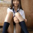 可愛いJKの紺ハイソとパンチラにムラムラするエロ画像 | エロの瞬間まる見え画像~女子高生大好き~